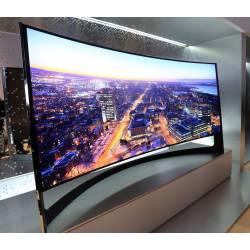 Что такое изогнутые телевизоры, в чем их преимущество?