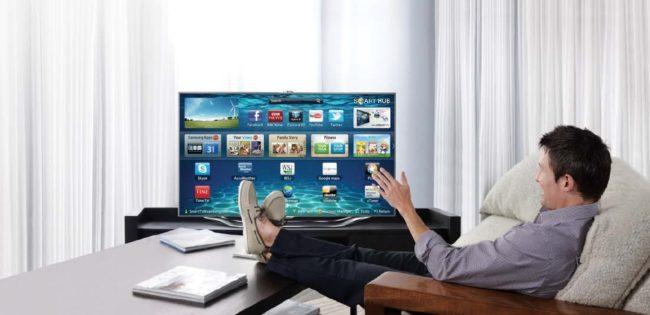 Управление Смарт ТВ