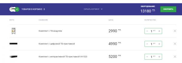 НТВ Плюс Запад комплекты оборудования