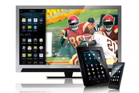 Подключение Смарт ТВ с помощью планшета или телефона