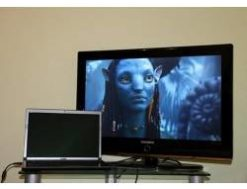 Подключить ноутбук к телевизору