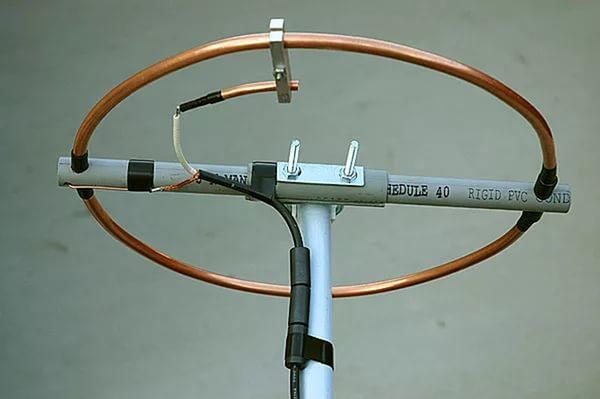 кольцевидная дециметровая антенна