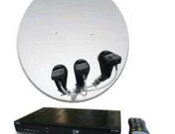 как подключить спутниковую тарелку к телевизору