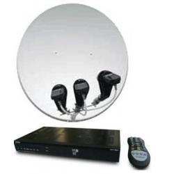 Как подключается спутниковая тарелка к телевизору