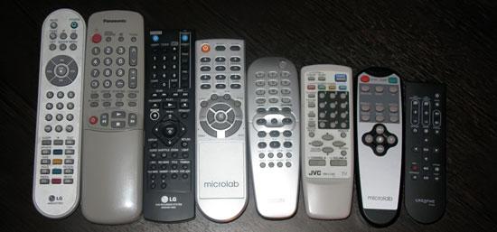 пульты от ТВ