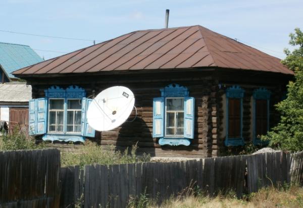 Спутниковое телевидение на даче
